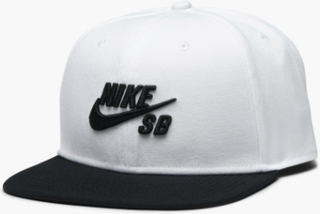 Nike SB - Cap Pro - Hvid - ONE SIZE