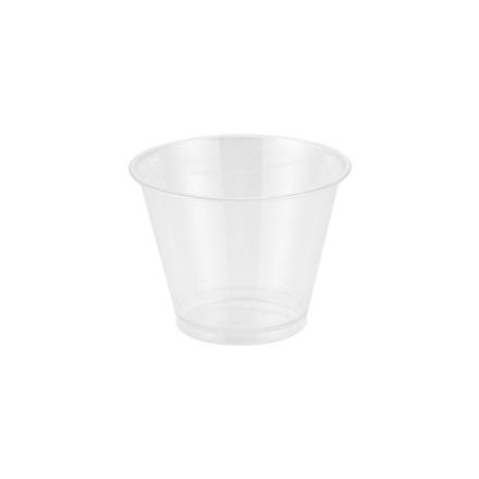 Plastglas yoghurt/müsli PET 27cl (9oz) 50stk/ps