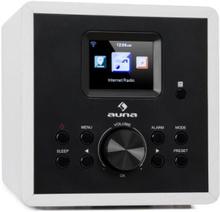 Radio Gaga 2.0 Internetradio DAB+ WLAN FM Bluetooth AUX IN vit