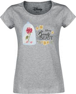 Skönheten och Odjuret - Skönheten och Odjuret - T-shirt - gråmelerad