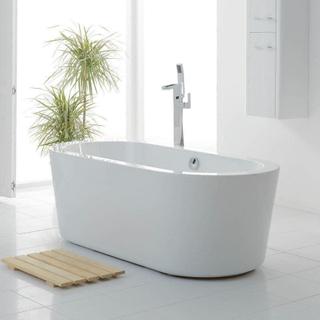 Fristående badkar med Lucite akryl - A-08