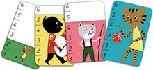 Kortspel - stor och liten