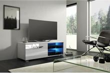 Vivaldi Furniture MOON 2 TV bänk vit med LED belysning