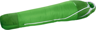 Mammut Kompakt MTI 3-Season Sleeping Bag 195cm sherwood-dark spring 180cm Right 2019 Syntetiske soveposer