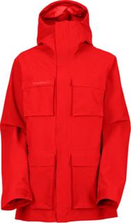 Norrøna W's Svalbard Gore-Tex Jacket Crimson Kick XS 2016 Turjakker