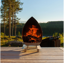 Gardenfire Eldstad Magma Corten 1