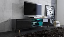 Vivaldi Furniture SWEDEN TV bänk svart med LED belysning
