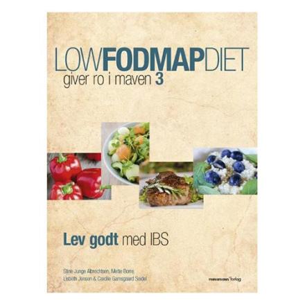 Low FOoDMAP Diet 3 bog giver ro i maven, 1 stk