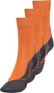 axant 73 Merino Sokker Barn 3-pakk Orange EU 27-30 / UK 9,5-11,5 2018 Barnesokker