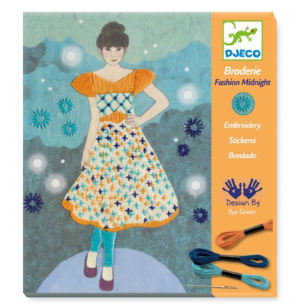 Djeco, Broderie - Fashion Midnight