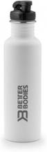 Better Bodies Fulton Bottle - White - Drikkeflaske