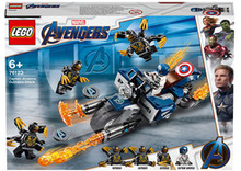 76123 Super Heroes Captain America: Outriders attack