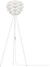 Umage Silvia Create golvlampa, mini, med vit fot - Vit