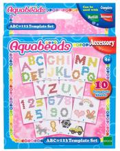 Aquabeads ABC&123 Sjablonger
