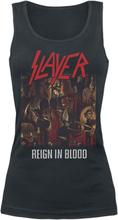 Slayer - Reign In Blood Classic -Topp - svart