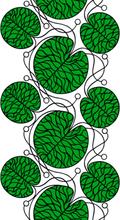 Bottna grönt tyg grön