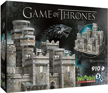 Wrebbit 3D Puslespill Game of Thrones Winterfell