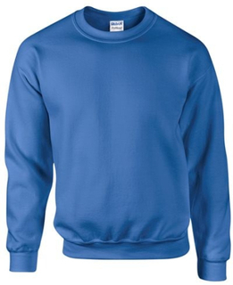 Gildan DryBlend Vuxen Set-In Crew Neck-tröja (13 färger)