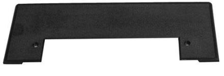 Nilfisk-Frithiof dekkplate til feiebrett - sort