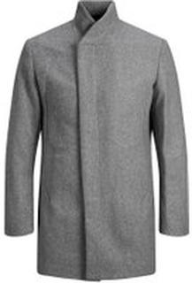 JACK & JONES Wool Coat Man Grå