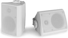 "BGO50 högtalare-set 120W 5,25"" woofer 3/4"" tweeter vit"