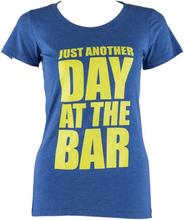 Tränings-T-shirt för kvinnor storlek L true royal