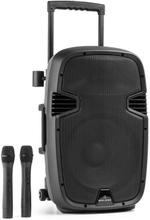 Bushfunk 30 aktiv PA-högtalare 700W Bluetooth Batteri USB SD MP3 VHF