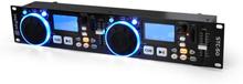 DJ-MP3-spelare Skytec STC-50 2 decks USB SD scratching