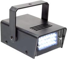 Mini stroboskop 24 x LED 10W inkl. bygel