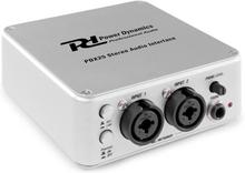 PDX25 stereo-audio-interface inkl. audacity-mjukvara