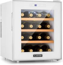 Reserva 16 Blanco vinkylskåp 16fl/48l touch LED-display vit