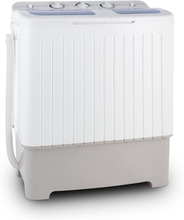 Ecowash XXL tvättmaskin 6,8 kg centrifugering 5,2kg