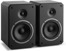 Octavox 702 MKII - två-vägs-kompakthögtalare par svart