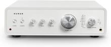 Drive Digital stereo-förstärkare 2x170W/4x85W RMS AUX/phono/coax vit