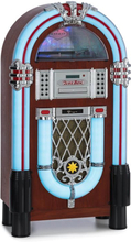 Graceland DAB Jukebox BT CD vinyl DAB+/FM USB SD AUX-IN LED-ljus