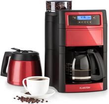 Aromatica II Duo Kaffemaskin med inbyggd kvarn, 1,25 l röd