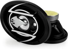 "15x23cm (6x9"") bilhögtalarpar 900W svarta"