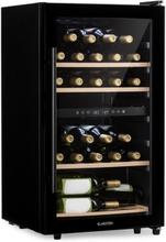 Barossa 34 Duo vinkylskåp 34 flaskor 80 liter 2 zoner touchkontroll