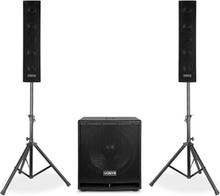 "VX880BT 2.1 aktivt högtalar-set 1000 W 15"", 2 x 8"", USB/SD/MP3/BT"