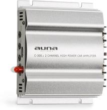 C300.2 2-kanal-förstärkare bil-slutsteg 800W PMPO 200W RMS silver
