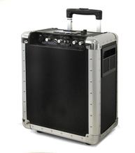 Mobil DJ-PA-anläggning Skytec trolley USB-SD-MP3 batteri