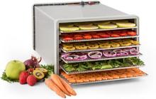 Fruit Jerky 6 torkautomat dehydrator 630W 6 nivåer rostfri