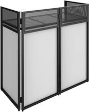 DB4 Pro DJ Booth System DJ stativbord vikbar inklusive lycra-överdrag