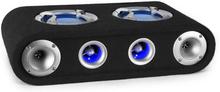 "Beatgust X65 passiv auto-högtalarelement 2 x 16,5cm (6,5"") 300W LED"