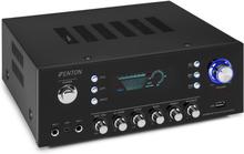 AV120FM Stereo-HiFi-förstärkare 120W RMS (2x60W vid 8 ohm) BT / USB / AUX