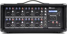 PDM-C805A 8-kanal-mixer med förstärkare, USB-och SD-slot