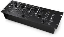4-kanals-DJ-mixer Skytec STM3004 förlyssningsfunktion rack