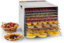 Fruit Jerky10 torkautomat tork 1000W 10 hyllor rostfritt stål
