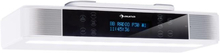KR-140 Bluetooth-köksradio handsfreefunktion LED-belysning vit