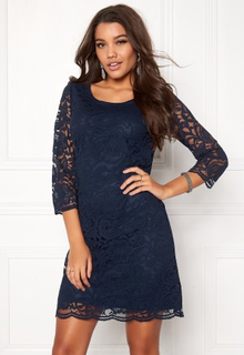 Happy Holly Lina lace dress Navy 36